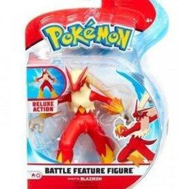 Incredible novelties Pokemon Battle Feature Figurine 4.5 '' Blaziken