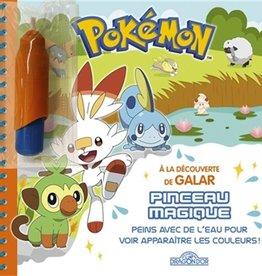 LES LIVRES DU DRAGON D'OR Pinceau Magique: Les Pokémon de Galar