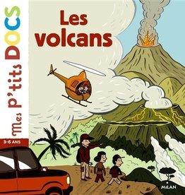 Editions milan Mes p'tits docs : Les volcans