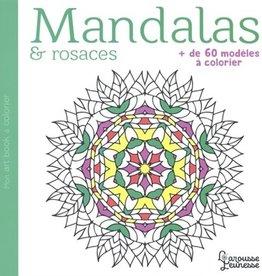 Larousse jeunesse Mandalas & rosaces : + de 60 modèles à colorier
