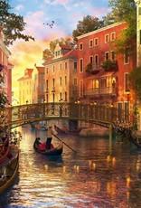 Educa Casse-tête 1500 pièces - Coucher de soleil à Venise