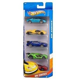 Hot Weels Ensemble de 5 voitures