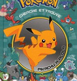 DRAGON D'OR Pokémon : cherche et trouve : Pikachu à Alola