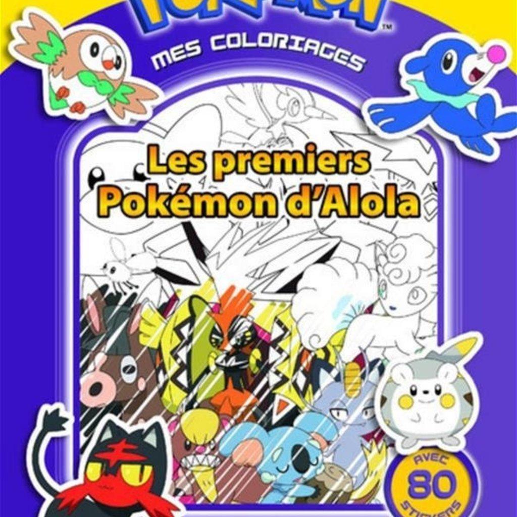 Mes Coloriages Pokemon Les Premiers Pokemon D Alola Ojeux