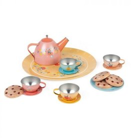 Janod Ensemble à thé en métal