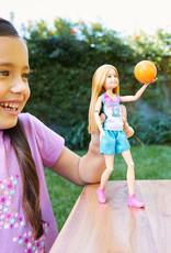 Barbie Poupée Stacie Joueuse de basketball Barbie Dreamhouse Adventures, en tenue de basketball