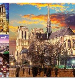 Educa Casse-tête 1000 pièces - Collage de Notre-Dame