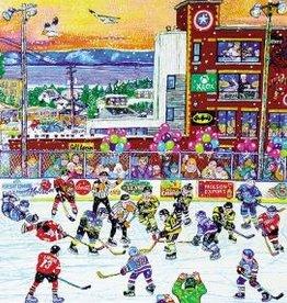 Trefl Hockey sur glace Rivière Du Loup - 1000 pièces