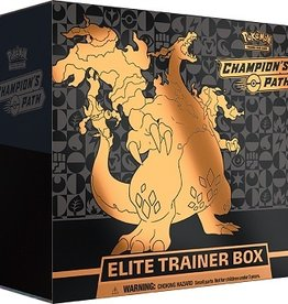 The Pokemon Company Champion path elite trainer