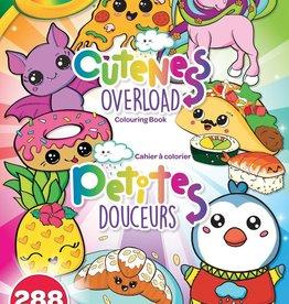 Crayola - Cahiers à colorier petit douceur 288 pages