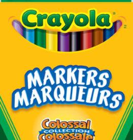 Crayola - 24 marqueurs trait fin, Colossal
