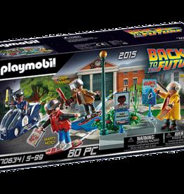 Playmobil 70634 Retour vers le future - Partie II - Course d'hoverboard