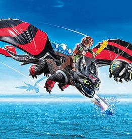 Playmobil 70727 Dragon Racing: Krokmou et Harold
