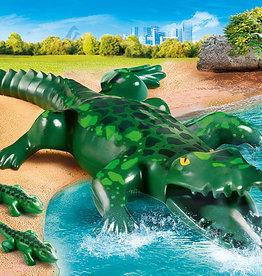 Playmobil 70358 Alligator avec ses petits