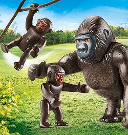 Playmobil 70360 Gorille avec ses petits