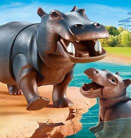 Playmobil 70354  Hippopotame et son bébé