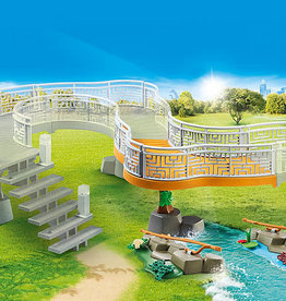 Playmobil 70348  Extention pour parc animalier
