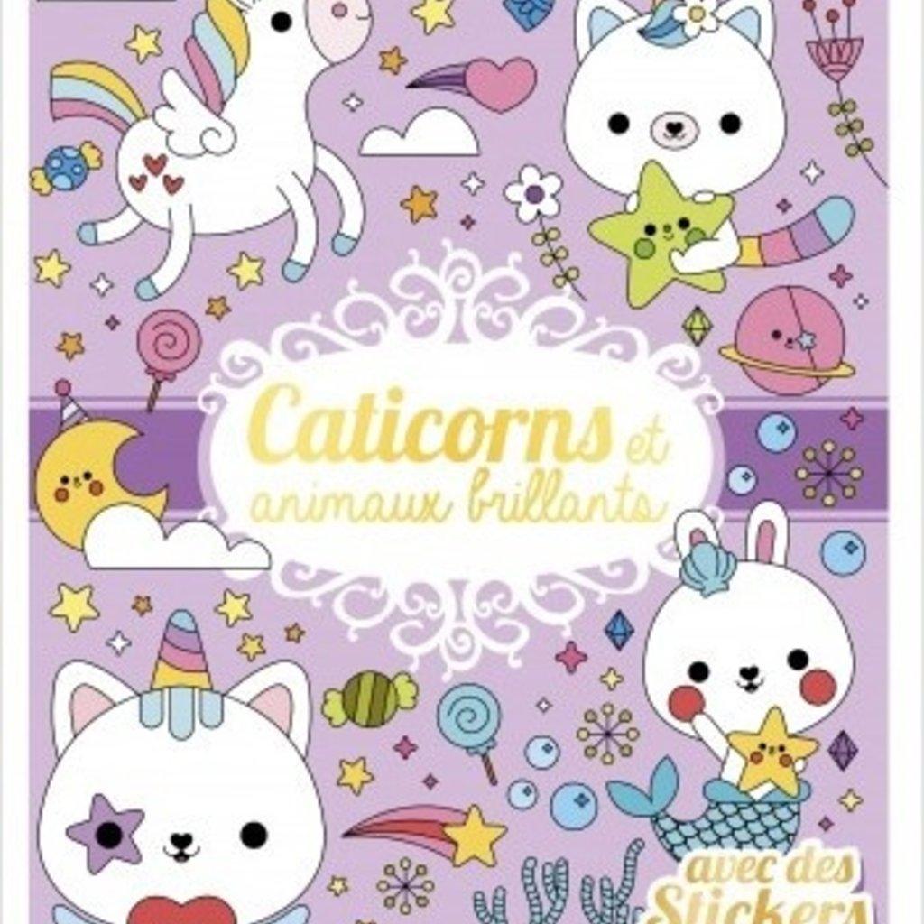 GRUND Caticorns et animaux brillants avec stickers dorés