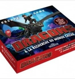 LES LIVRES DU DRAGON D'OR DRAGONS - ESCAPE GAME - À LA RECHERCHE DU MONDE CACHÉ