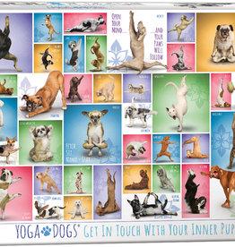Eurographics Yoga chiens casse-tête 1000 pièces