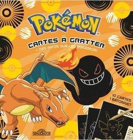 LES LIVRES DU DRAGON D'OR Pokémon - carte à gratter + info sur les pokémon