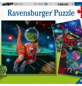 Ravensburger Dinosaures dans l'espace 3x49pcs