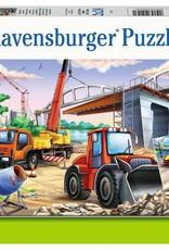 Ravensburger Chantiers et course automobile 2x24pcs