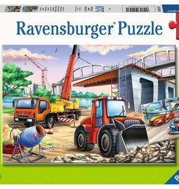 Ravensburger Chantiers et course automobile 2x24pcs