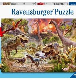 Ravensburger Bataille des dinosaures 60pcs