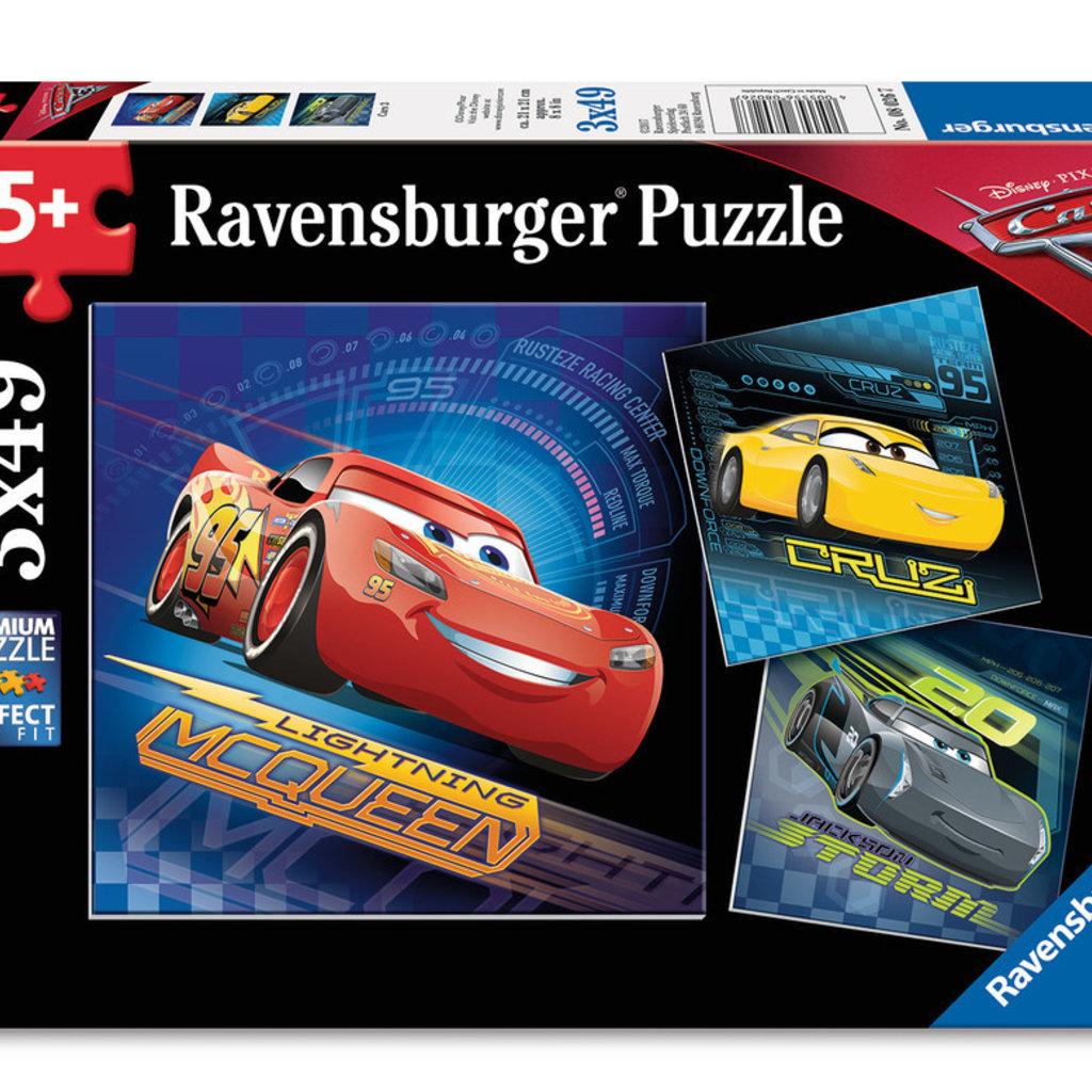 Ravensburger Cars 3 3x49pcs