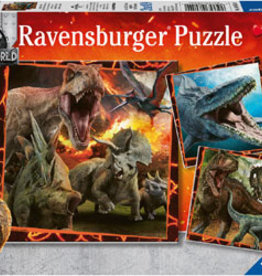 Ravensburger Jurassic Instinct de chasseur 3x49pcs