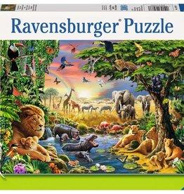 Ravensburger Coucher de soleil à l'oasis 300pcs