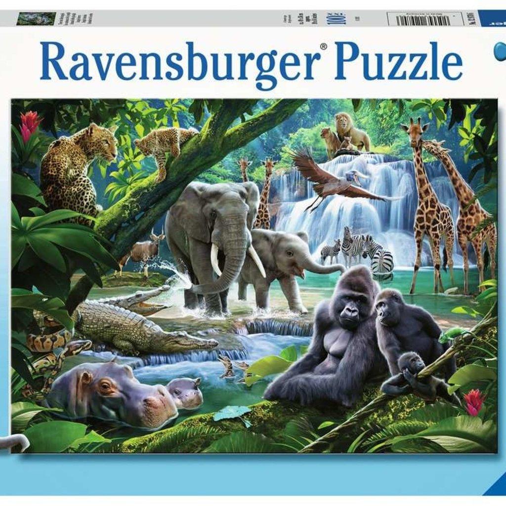 Ravensburger Animaux de la jungle 100pcs