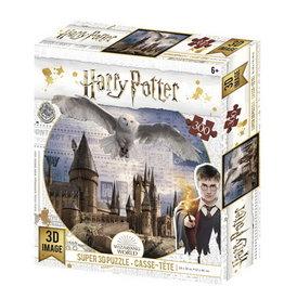 Wizarding World Poudlard et Hedwig 3D lenticulaire 300 mcx