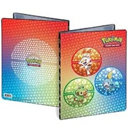 Ultra pro Sword and Shield Galar Starters Portefeuille 9 poches pour Pokémon