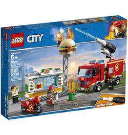 Lego City 60214 L'incendie dans le Bar à Burgers
