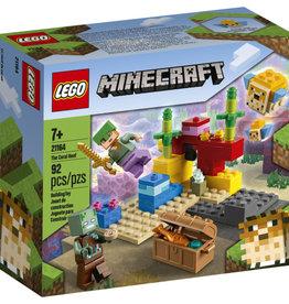 Lego Minecraft 21164 Le récif corallien
