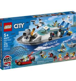 Lego City 60277 Le bateau de patrouille de la police