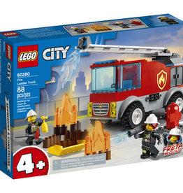 Lego City 60280 Le camion des pompiers avec échelle