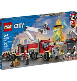 Lego City 60282 L'unité de commandement des pompiers