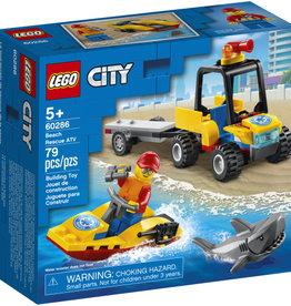 Lego City 60286 Le Tout-Terrain de secours de la plage