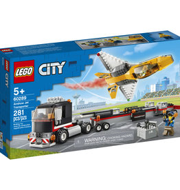 Lego City 60289 Le transport d'avion de voltige