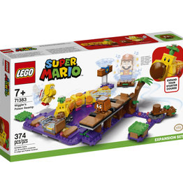 Lego Super Mario 71383 Ensemble d'extension Le marais empoisonné de Wiggler