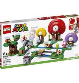 Lego Super Mario 71368 Ensemble d'extension La chasse au trésor de Toad