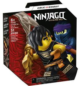 Lego Ninjago 71733 Set de bataille épique - Cole contre le guerrier fantôme