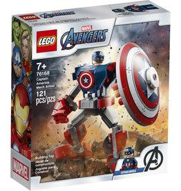 Lego Marvel 76168 L'armure robot de Capitaine America
