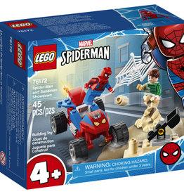 Lego Spiderman 76172 Le combat de Spider-Man et Sandman
