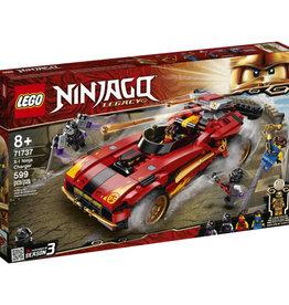 Lego Ninjago 71737 Le chargeur Ninja X-1