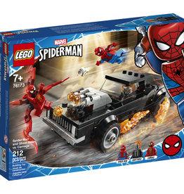 Lego Spiderman 76173 Spider-Man et Ghostrider contre Carnage