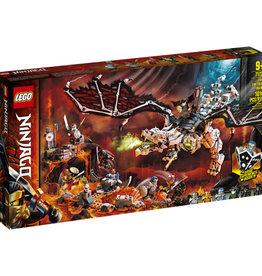 Lego Ninjago 71721 Le dragon du sorcier du crâne